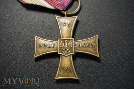 Duże zdjęcie Krzyż Walecznych ok. 1934r. - Delande