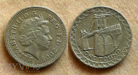 Wielka Brytania, 1 POUND 2005