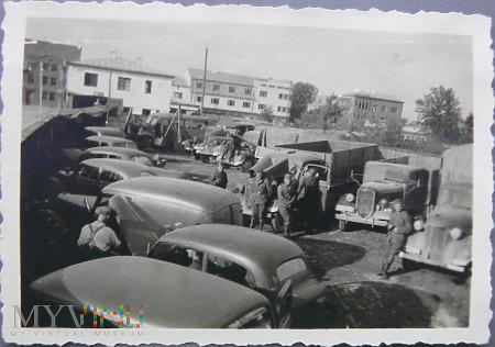 Zdjęcie niemiecka jednostka transportowa