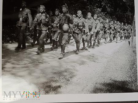 Niemcy - Fotografie z albumu - Piechota w marszu