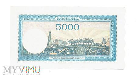 Rumunia - 5000 lei, 1944r.