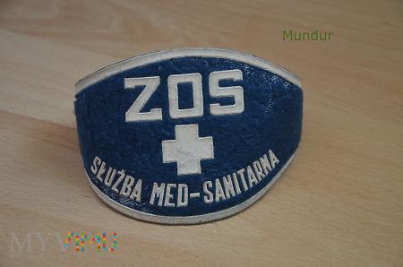Opaska ZOS: służba medyczno-sanitarna