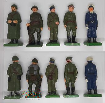 Żołnierzyki PRL wojsko polskie 1939