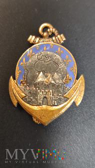 Odznaka 24 Pułku Piechoty Kolonialnej - Francja