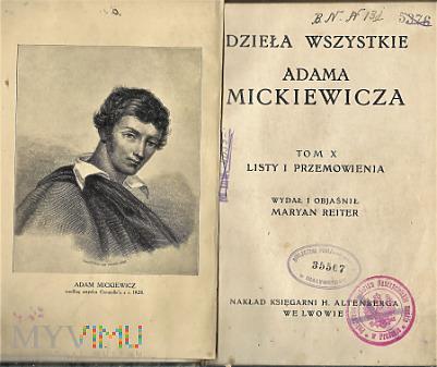 Dzieła Wszystkie -Adama Mickiewicza.