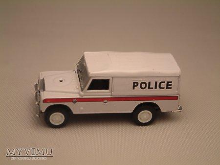 Duże zdjęcie Land Rover Series III 109 Police