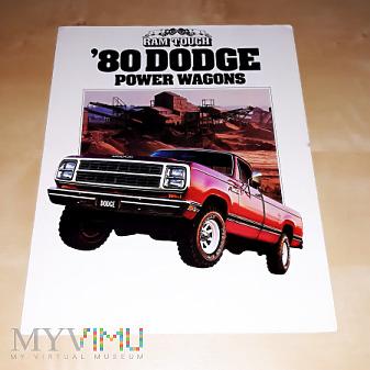 Prospekt Dodge Power Wagons 1980