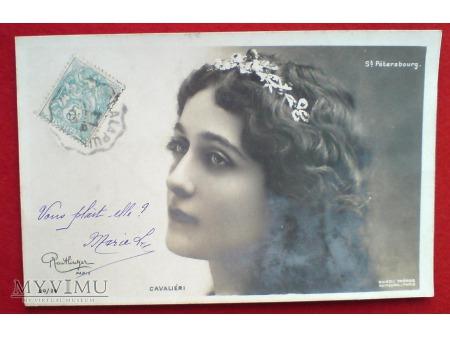c. 1903 Przedziwny adres ? Lina CAVALIERI