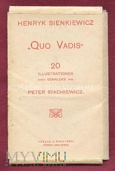 Quo Vadis - okładka zestawu pocztówek