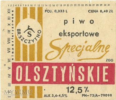 Browar Szczytno, piwo eksportowe specjalne olsztyń
