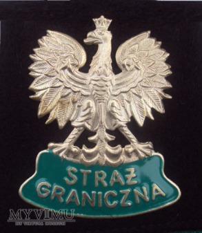 Orzełek metalowy do czapki SG wz.03