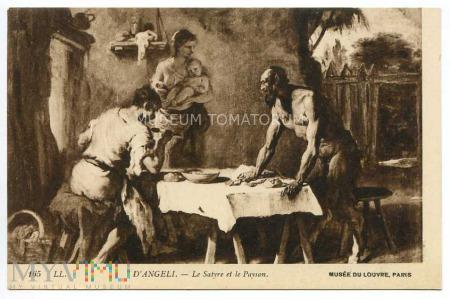 D'Angeli - Satyr u wieśniaków