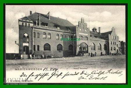 KWIDZYN Marienwerder Dworzec kolejowy