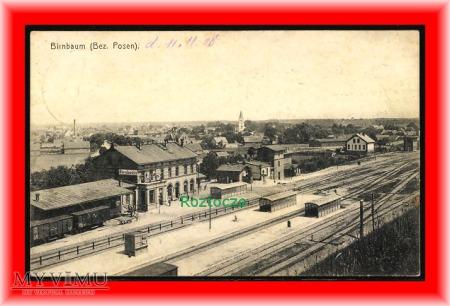 MIĘDZYCHÓD Birnbau , Dworzec kolejowy