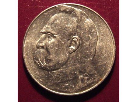 5 złotych z Józefem Piłsydskim