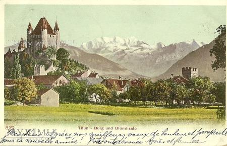 Szwajcaria - Thun - 1903 r.