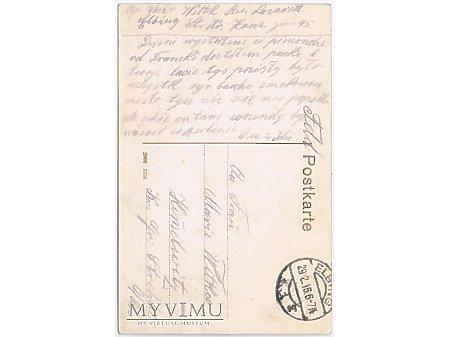 Pocztówka po polsku, 1916