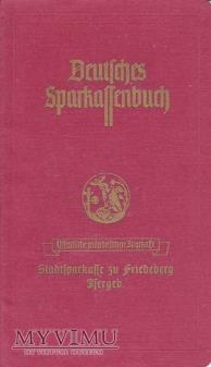 Księżeczka oszczędnościowa Friedeberg/Jsergeb.