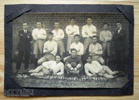 fotografia, drużyna piłkarska, rok 1924