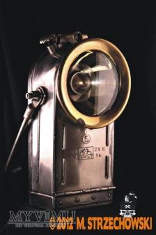 Elektryczna górnicza lampa bezpieczeństwa Dominit