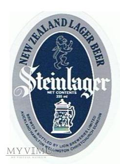 Duże zdjęcie steinlager - new zealand lager beer