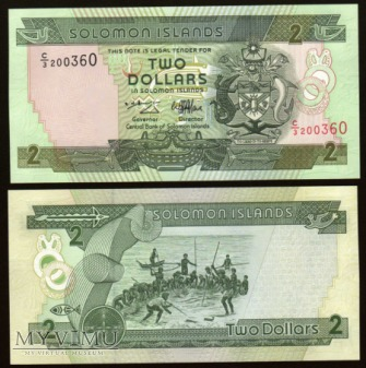 Solomon Islands - P 18 - 2 Dollars - 1996