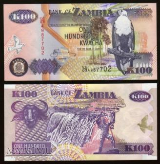 Zambia - P 38d - 100 Kwacha - 2003