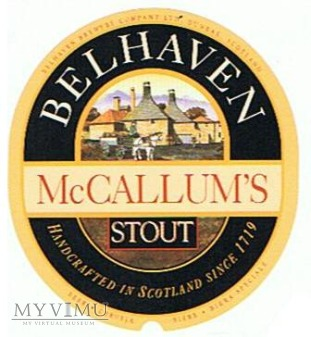 BELHAVEN - mccallum's stout