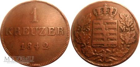 Duże zdjęcie 1 krajcar 1842