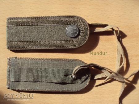 Oznaki stopnia na mundur polowy - Unteroffizier
