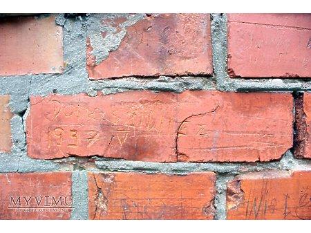 """Duże zdjęcie """"Stara Prochownia"""" - budynek A - inskrypcja #059"""