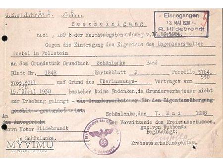 Dokument sądowy 1938 #9