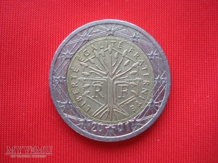 2 euro - Francja