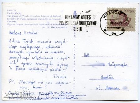Kraków - Kopiec Wandy - 1963
