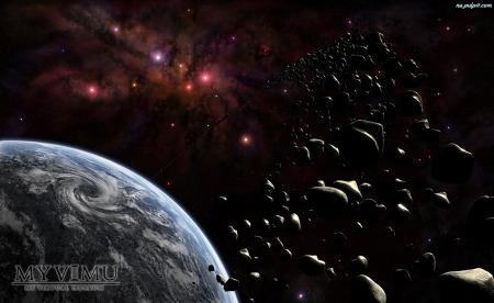 """meteoryty - """"deszcz meteorytów"""""""
