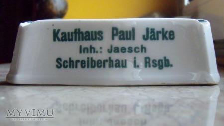 Popielniczka reklamowa Paul Järke Schreiberhau