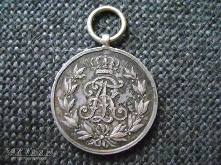Friedrich August Medaille srebrny
