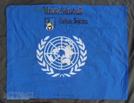 Flaga ONZ - Golan