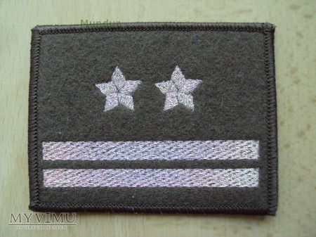 Oznaka stopnia - podpułkownik SG