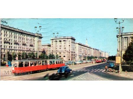 Warszawa ulica Marszałkowska