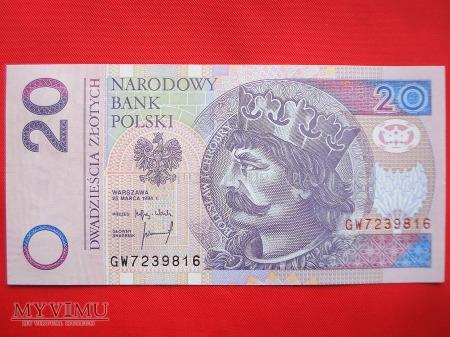 20 złotych 1994 rok