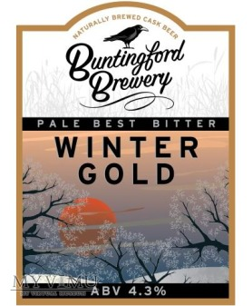 buntingford brewery - winter gold