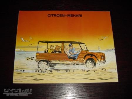 Duże zdjęcie Prospekt CITROEN MEHARI