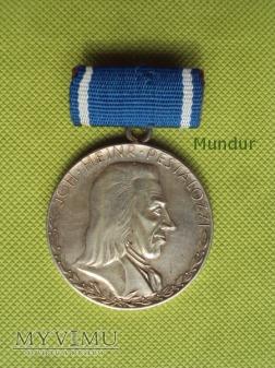 Medal Pestalozzi - Medaille für Treue Dienste