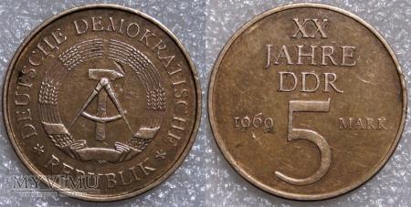 Niemcy, 5 MARK 1969