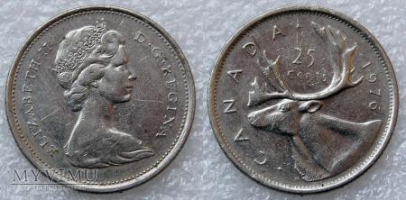 Kanada, 25 CENTS 1976