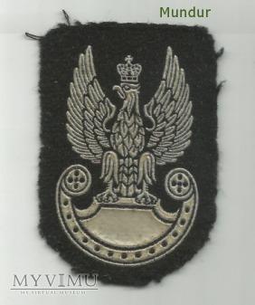 Orzełek wz.93 do beretu czarnego (guma)