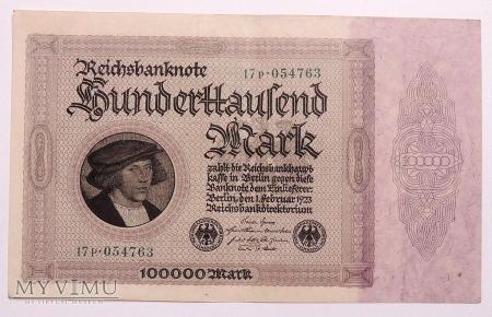 100.000 Marek 1923