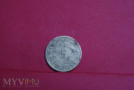 5 Pfennig 1924