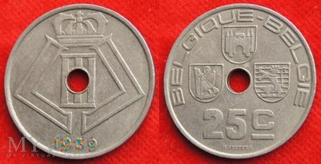 Belgia, 1939, 25 Centimes